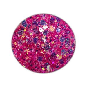 Glitzer Mix Nailart Pink