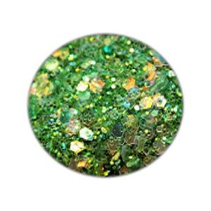 Glitzer Nails Green Mix