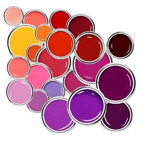 Gelb/Pink/Orange/Rot/Violett